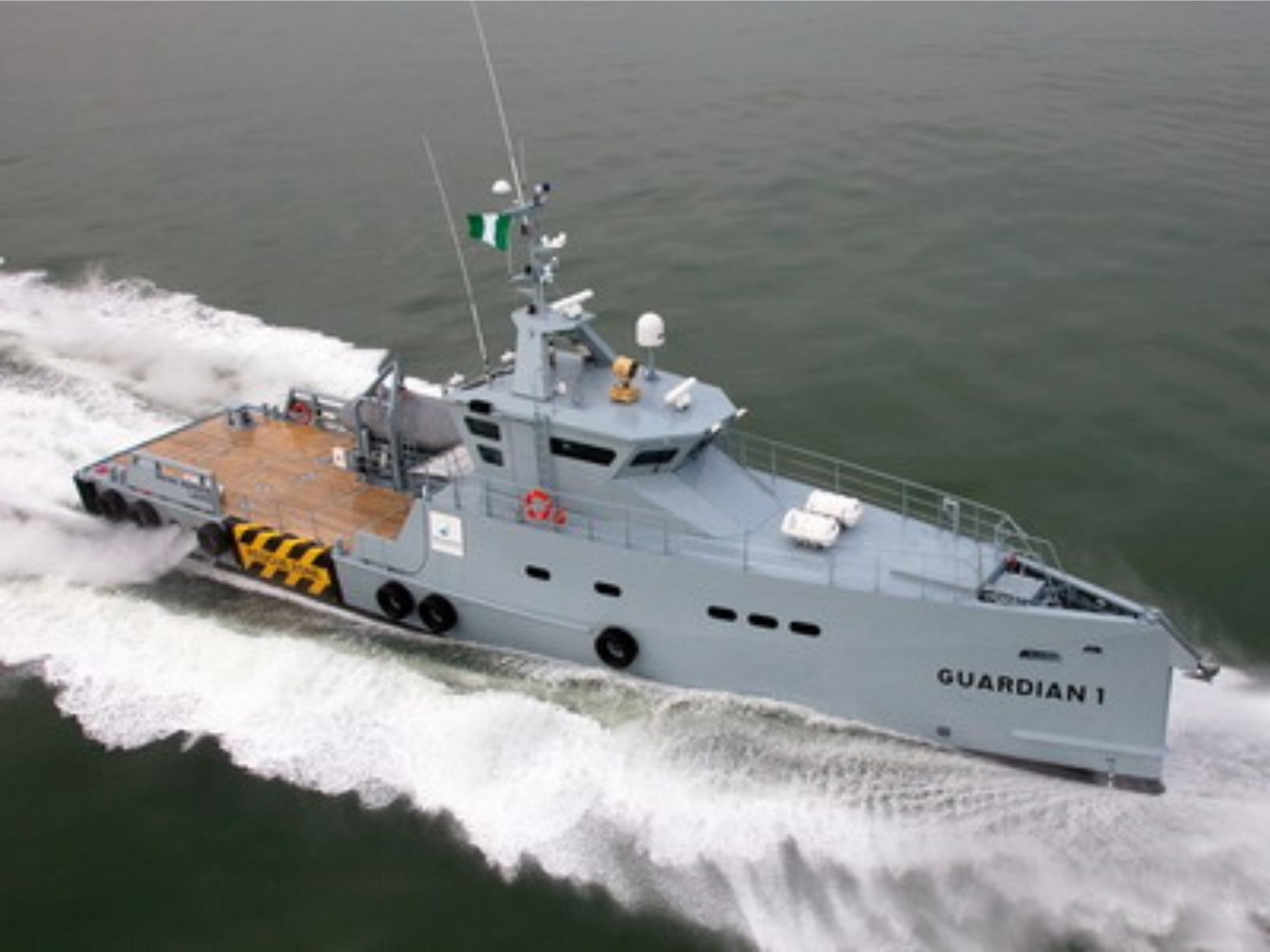 Nigeria's Homeland Integrated Offshore Services receiving second Damen patrol vessel