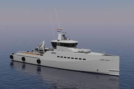 Nigeria-based Homeland Integrated Offshore Services has ordered two additional Fast Crew Supplier (FCS) 3307 patrol vessels